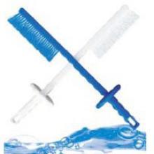 Щетка для чистки ножей в ломтерезках, измельчителях с защитой для руки